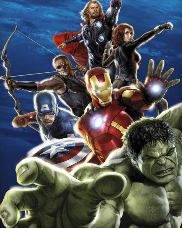 the avengers team #3