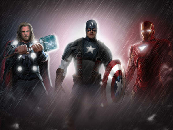 the three avengers
