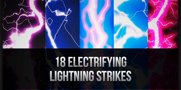 Electrifying Lightning Brush Strikes