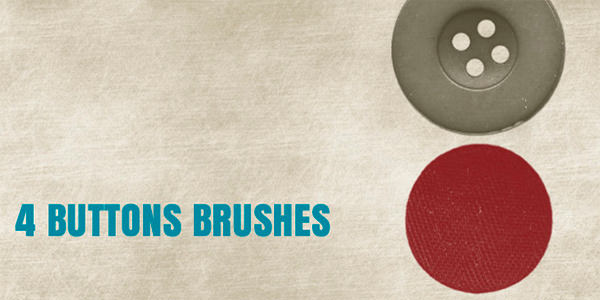 4 Buttons Brushes
