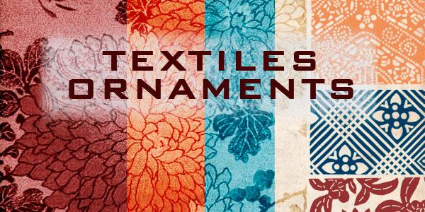 Textiles ornaments