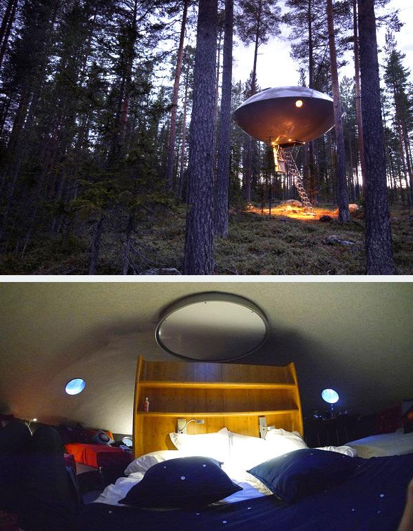 ufo hotel room