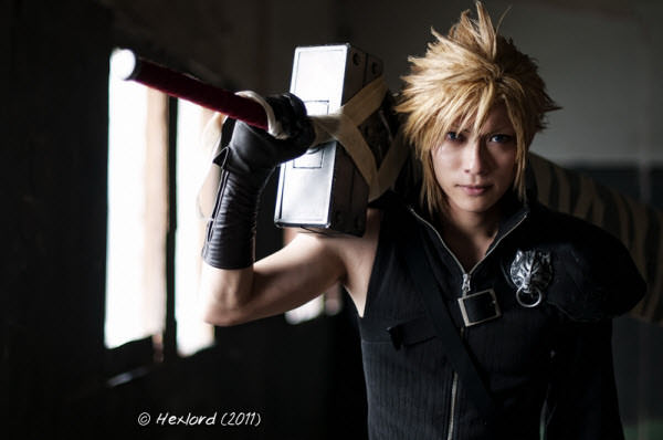 final fantasy viii ac - cloud