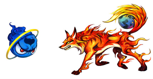 firefox fights internet explorer