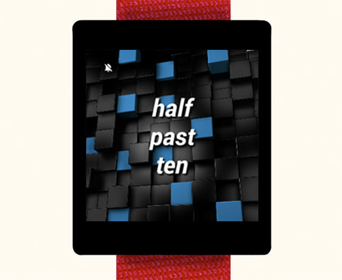 Human Time Watch Face