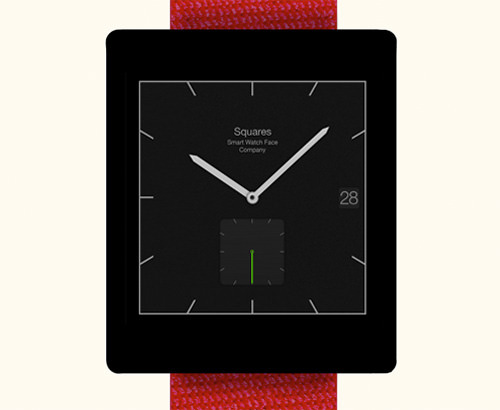 Squares Watch Face