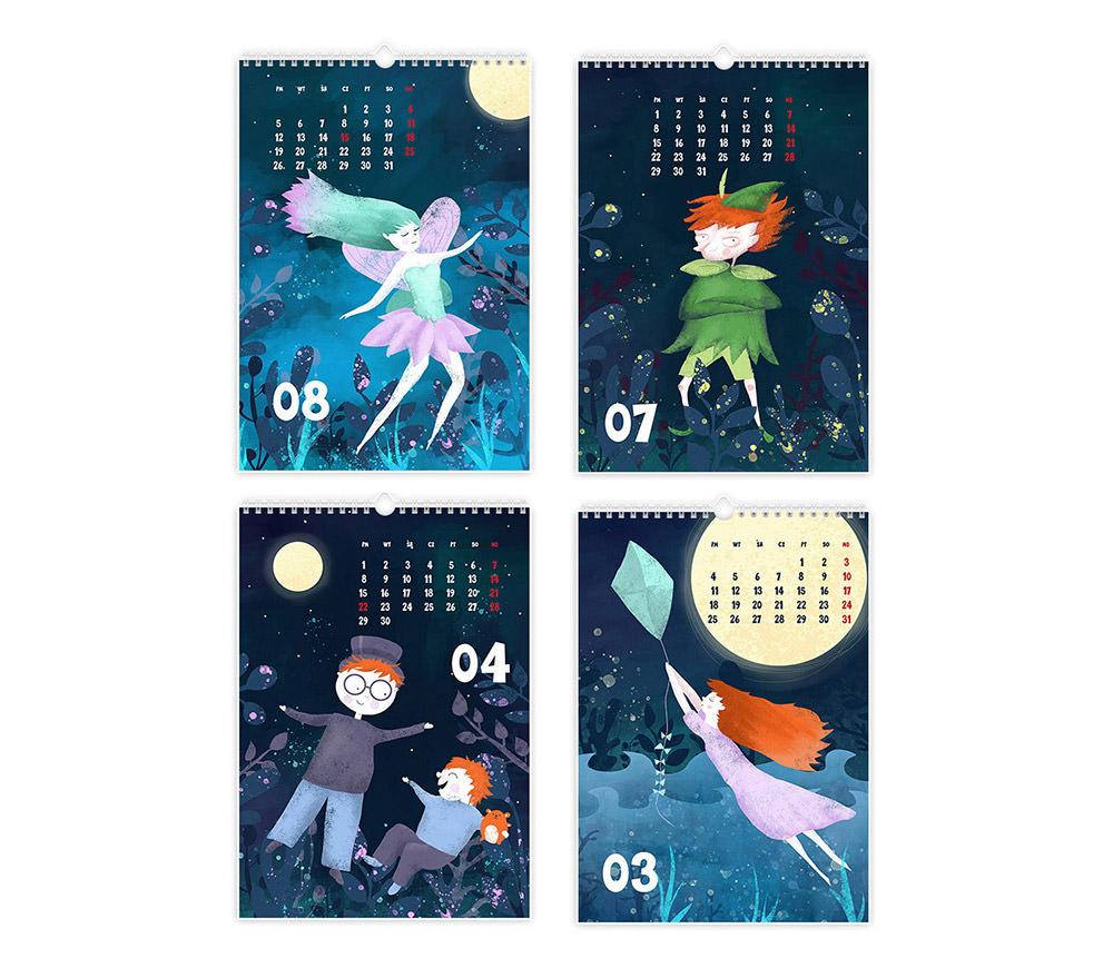 Peter Pan Calendar 2019