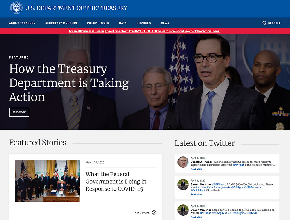 U.S Department of The Treasury