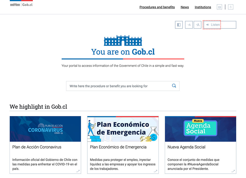 Government of Chile