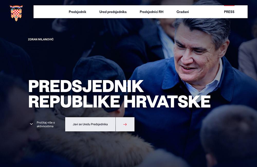 Croatian President Official