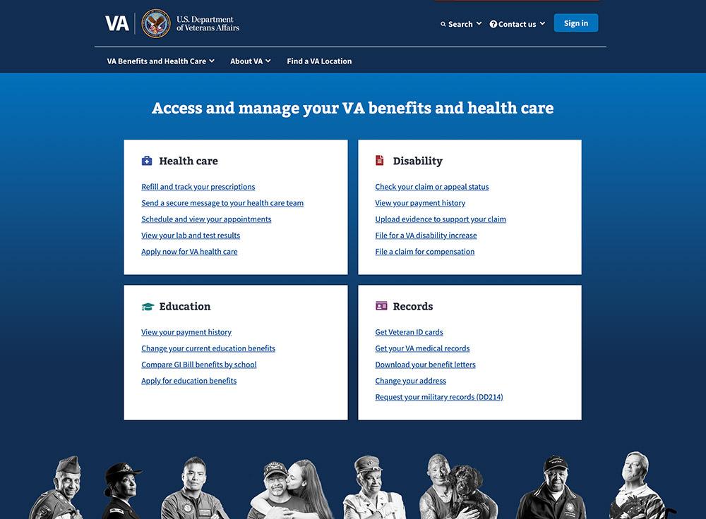 U.S Department of Veterans Affairs