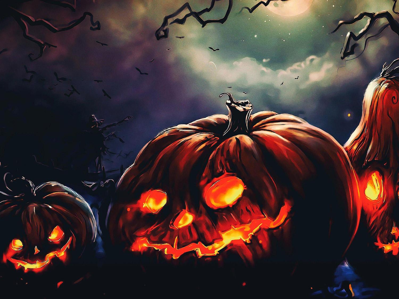 halloween wallpapers 4K