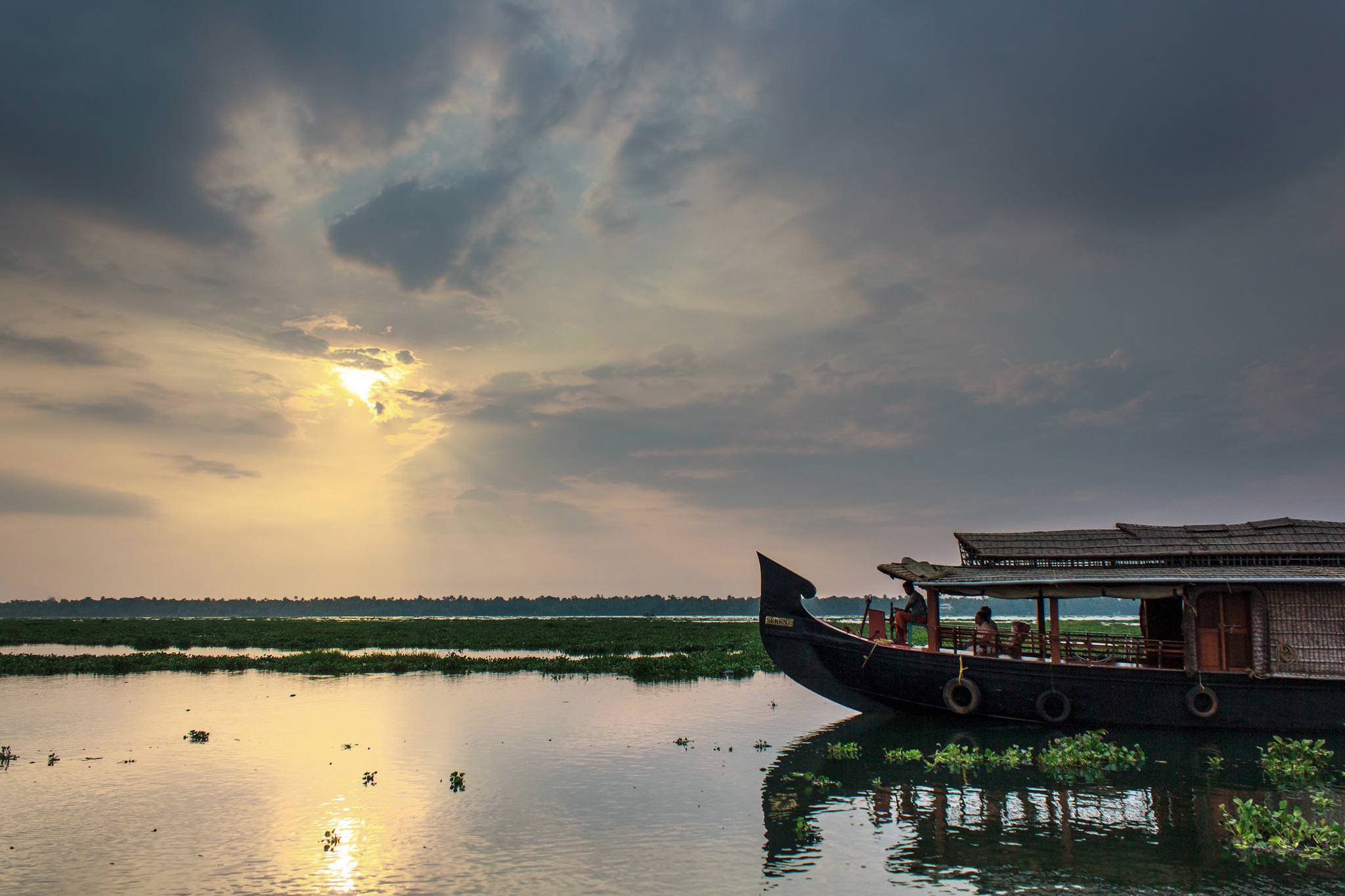 Beauty of Kerala backwaters