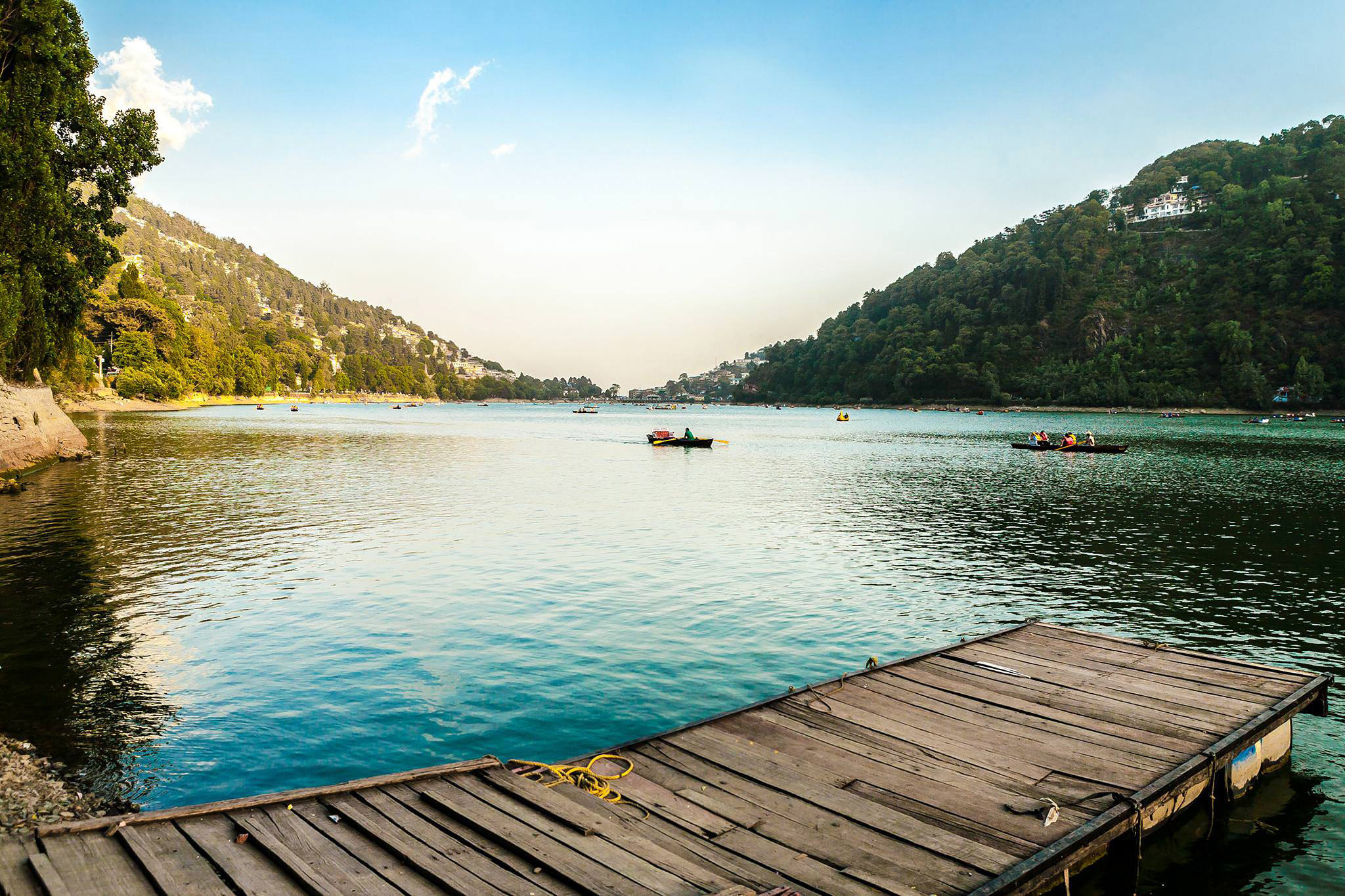 Boating at the Naini lake