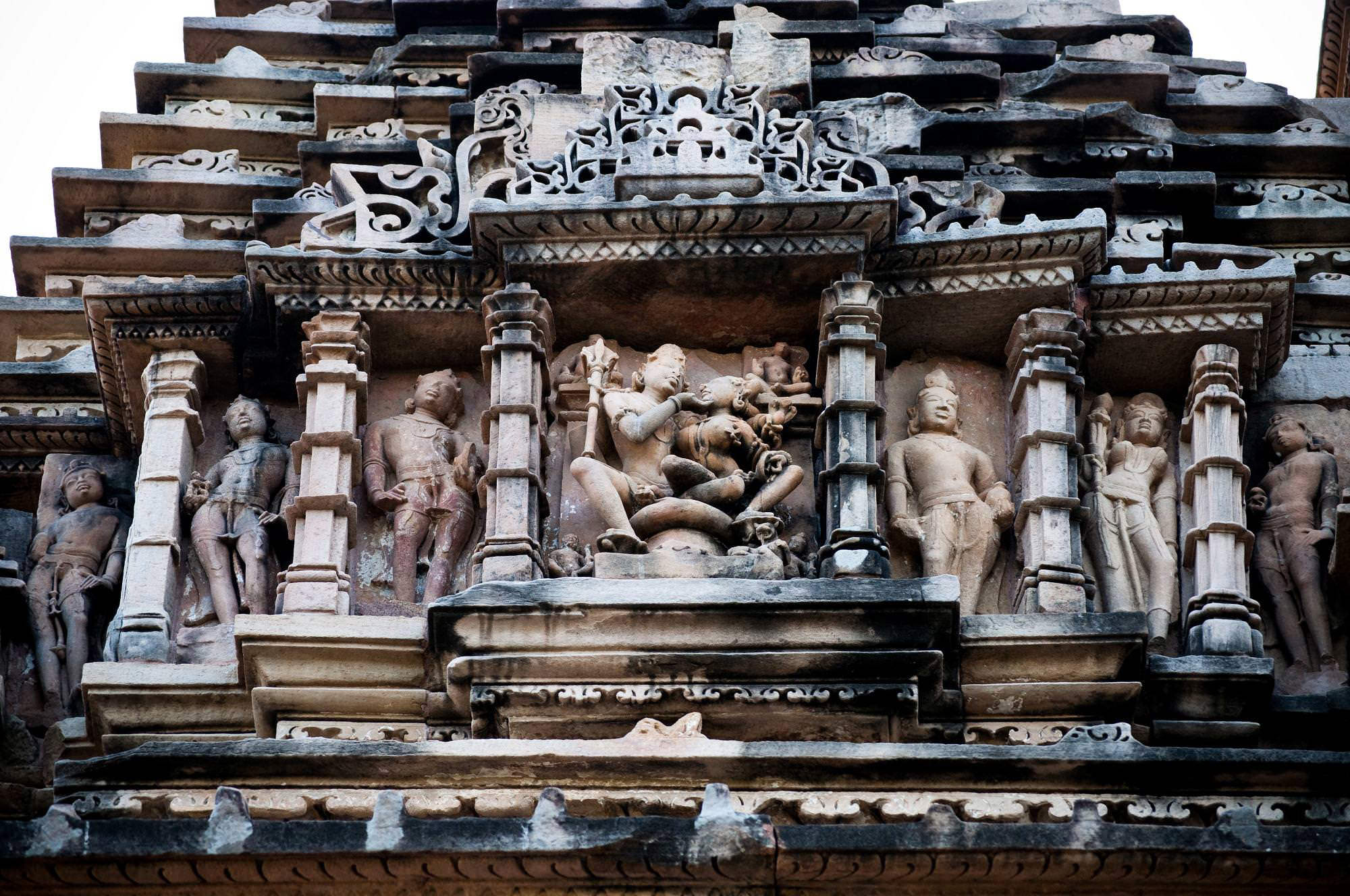 Sculptures at Khajuraho
