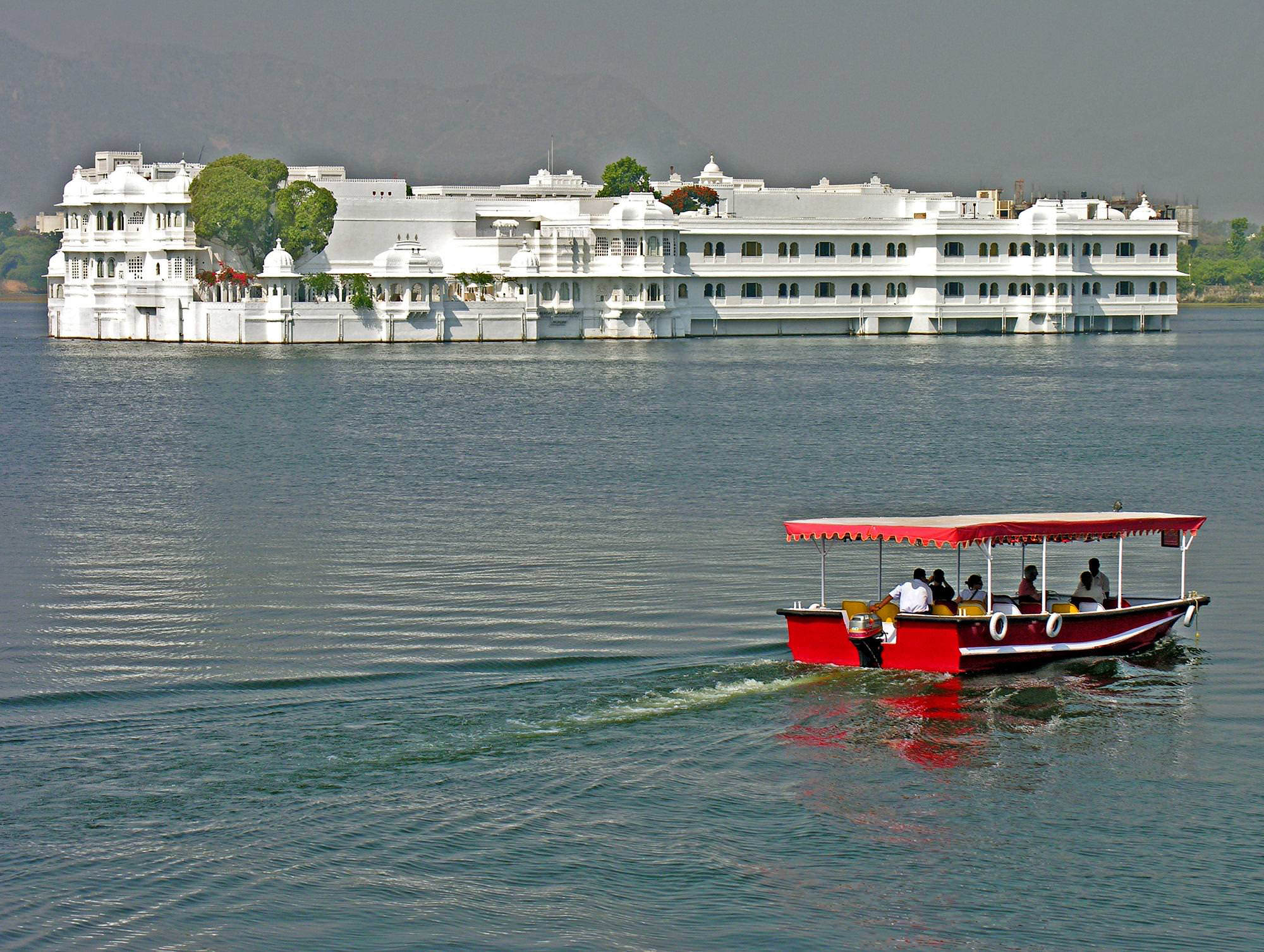 The Taj Lake Palace (Udaipur)