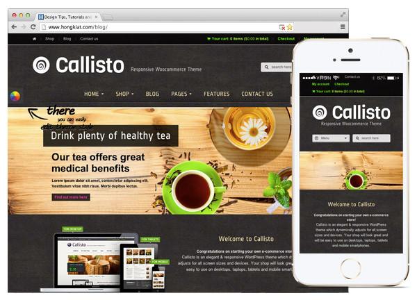Callisto WooCommerce