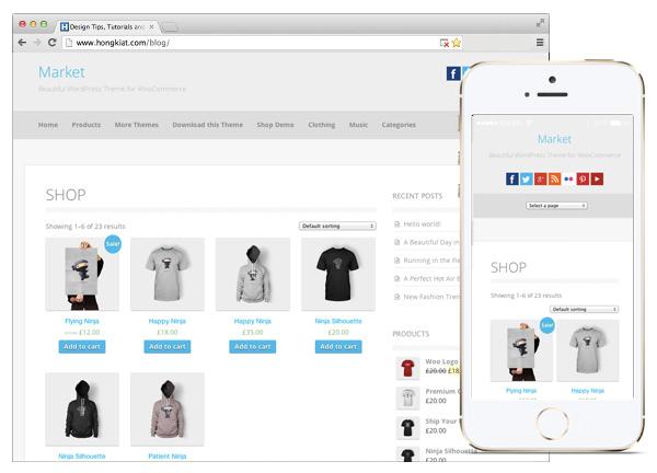 ecommerce free themes