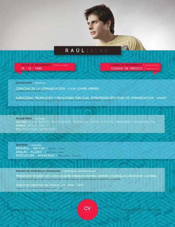 resume design