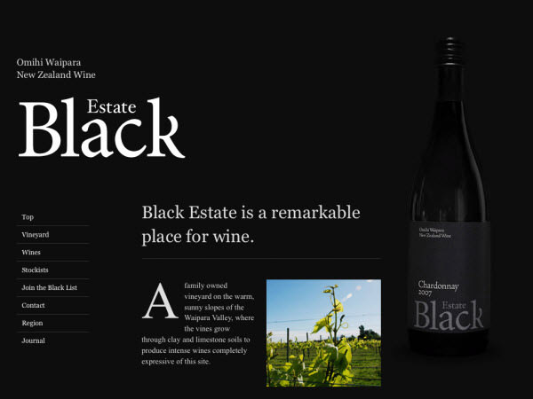 black estate