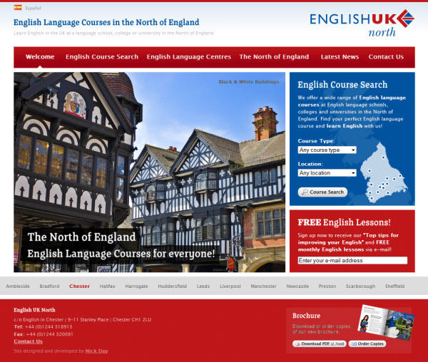 english uk north