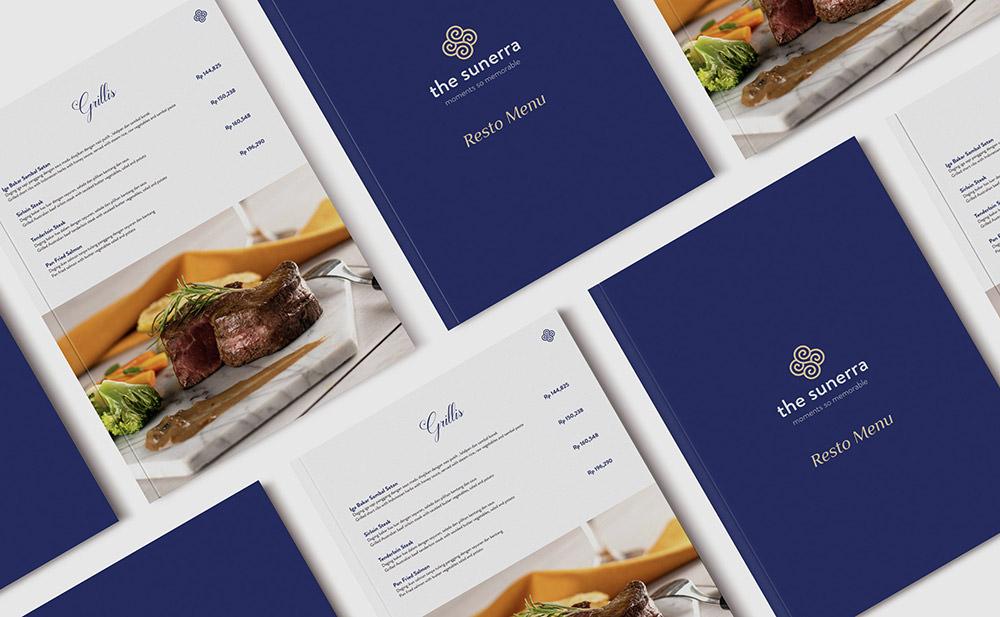 Restaurant Menu Design by Jihad Yanuar