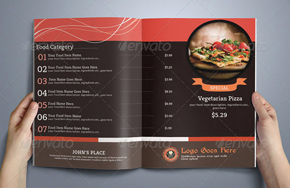 8 Pages Food Menu by Ruthgschultz