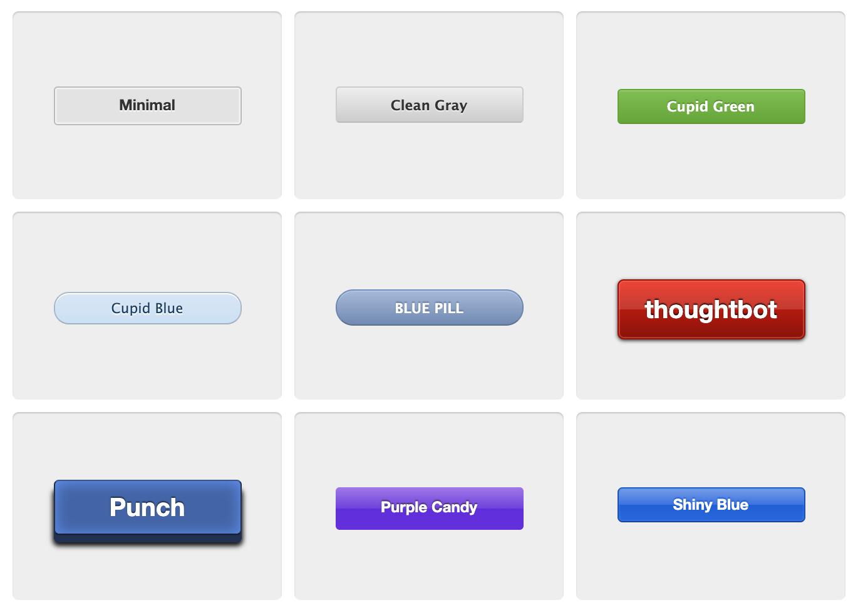 Github alike buttons