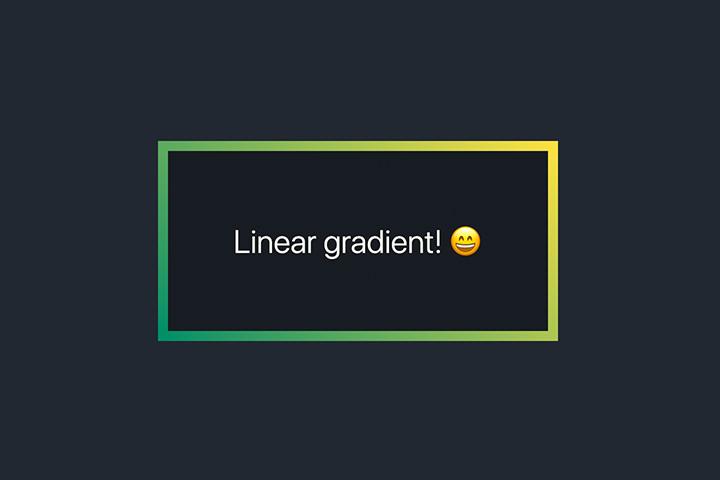 css3 gradient border
