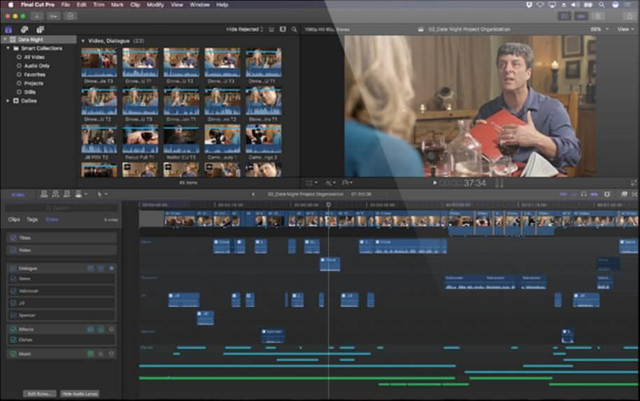 Magnetic Timeline 2 in Final Cut Pro X