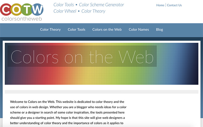Colors on the Web