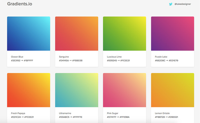 Gradients.io