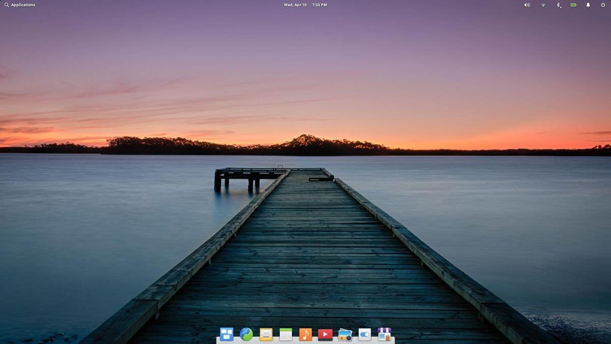 elementary OS Pantheon Desktop