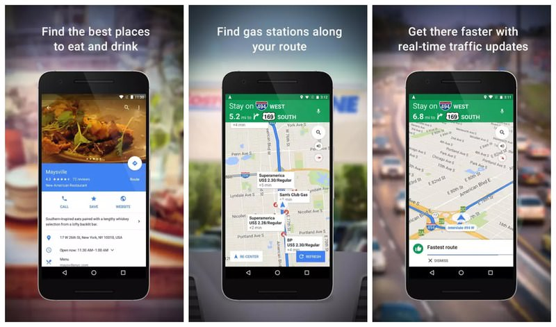 top free gps navigation apps for android