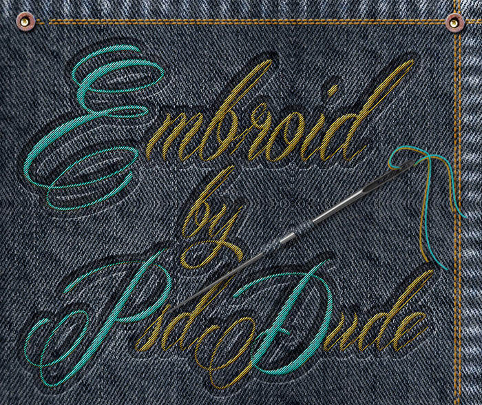Sewing Embroidery Effect