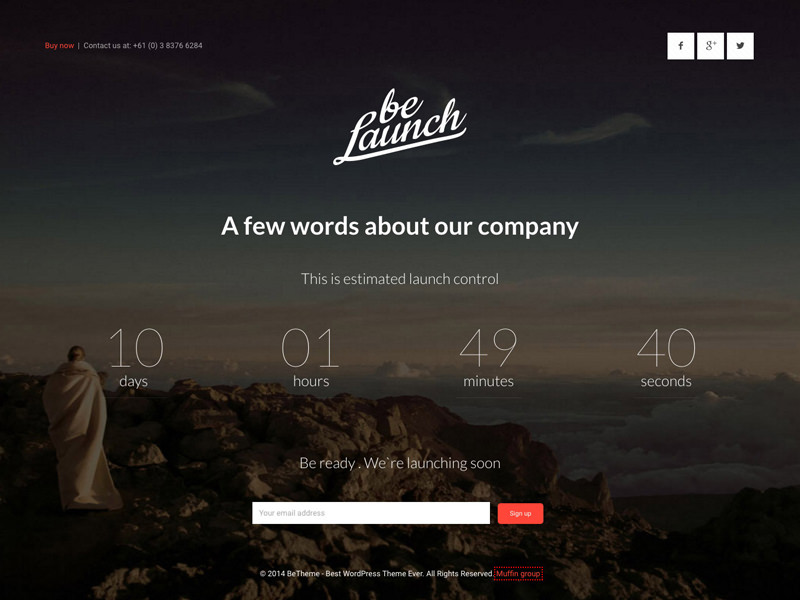 be launch