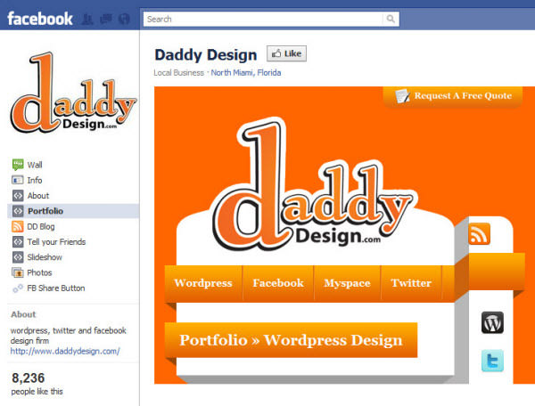 daddy design fanpage