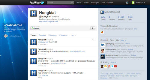 hongkiat twitter