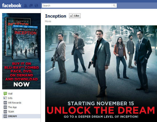 inception fanpage