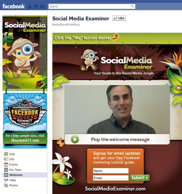 social media examiner fanpage