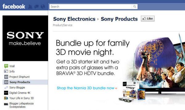 sony electronics fanpage