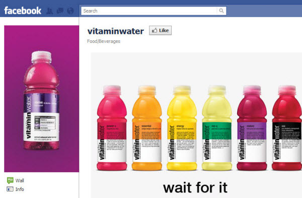 vitamin water fanpage