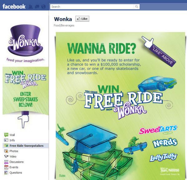 wonka fanpage