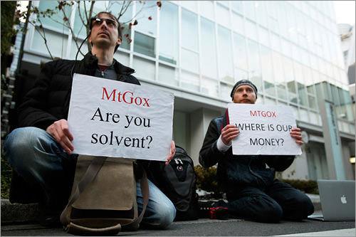 Mt. Gox Protesters