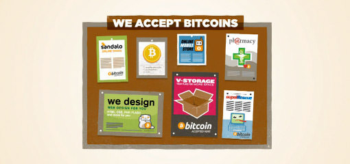 accept bitcoins