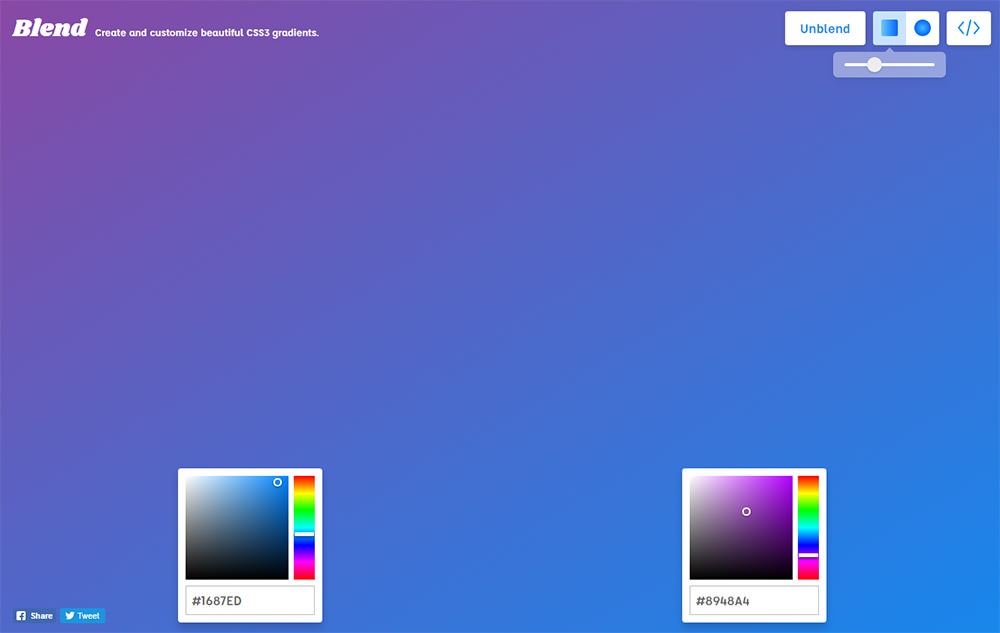 blending css3 gradients
