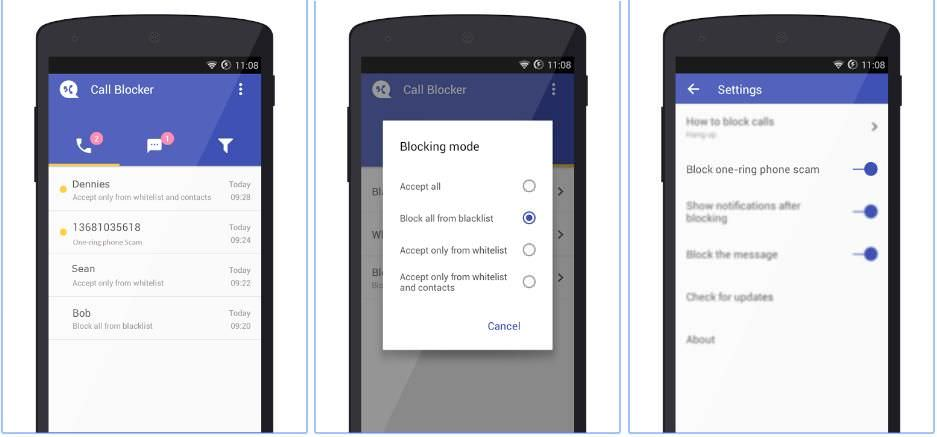 Call Blocker Free - Blacklist