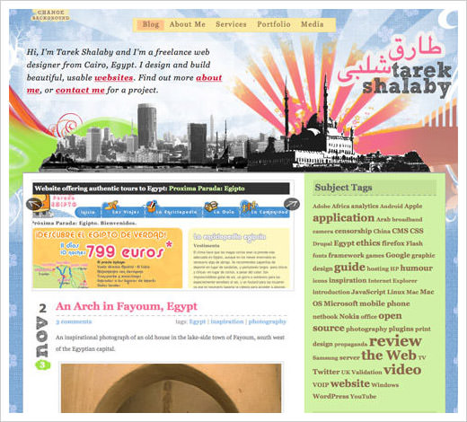 11 most popular blog design styles with examples hongkiat - Blogs On Design