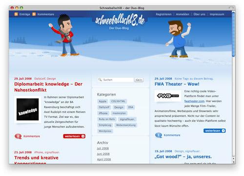 beautiful blog design