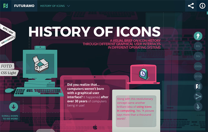 History of Icons